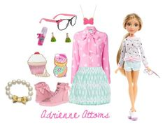 """""""Adrienne Attoms-Project MC2"""" by grace-buerklin ❤ liked on Polyvore featuring moda, claire's, UGG Australia, Moschino, J.Crew, Kate Rowland, Nila Anthony, ASOS, Kate Spade e projectmc2"""