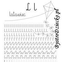 Nauka pisania literek i szlaczki dla dzieci Math Equations, Words, Horse