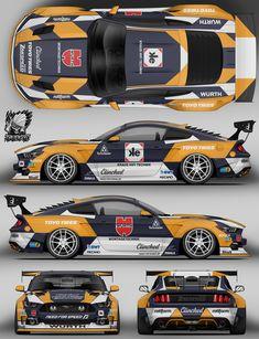 Us Cars, Sport Cars, Race Cars, Racing Car Design, Drifting Cars, Futuristic Cars, Car Drawings, Car Tuning, Car Ford