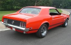1970 mustang coupe | Barrett-Jackson Lot: 631.1 - 1970 FORD MUSTANG COUPE