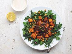Sweet-potato-chickpea-salad-crispy-shallots