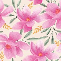 Download Watercolor Floral Pattern for free