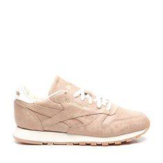 Fraaie Reebok – Cl Leather Exotics sneakers (Roze) Sneakers van het merk Reebok voor Dames . Uitgevoerd in Roze gemaakt van Leerlook.