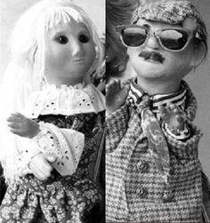 Kjenner du disse to? Stjernene i en av grøsserne som gikk på 60- og 70-tallet på barne-tv... ...