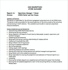 Assistant Store Manager Resume Tax Accountant Job Resume  Tax Manager Resume  Becoming A Tax