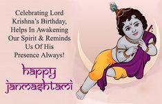 Latest Happy Janmashtami Images HD Greeting Card Wallpaper with Msg Janmashtami Greetings, Janmashtami Wishes, Krishna Janmashtami, Janmashtami Quotes, Janmashtami Images, Lord Krishna Birthday, Birthday Wishes And Images, Wishes Images, Happy Janmashtami Image