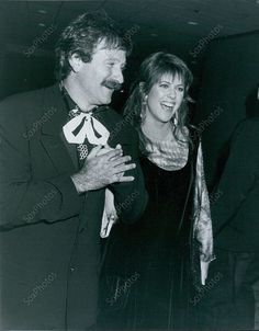 1988, Pam Dawber & Robin Williams at Century City Plaza