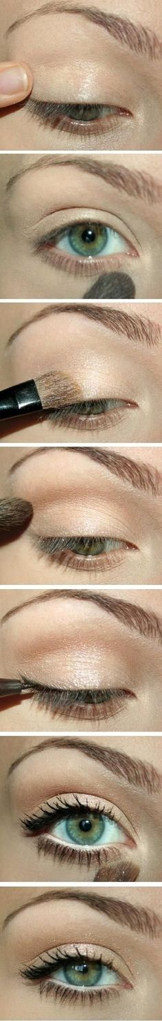 Makeup Tutorials For Green Eyes Step-By-Step