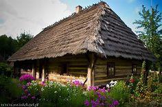 Old polish chałupa chata cottage