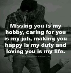 """Top 63 I Miss You Sayings On Missing Someone Quotes """"Missing someone is not tolerable one in human life. Love Quotes For Her, Missing Someone Quotes, Happy Love Quotes, Romantic Love Quotes, Quotes For Him, Be Yourself Quotes, Great Quotes, Quotes For My Wife, Best Wife Quotes"""