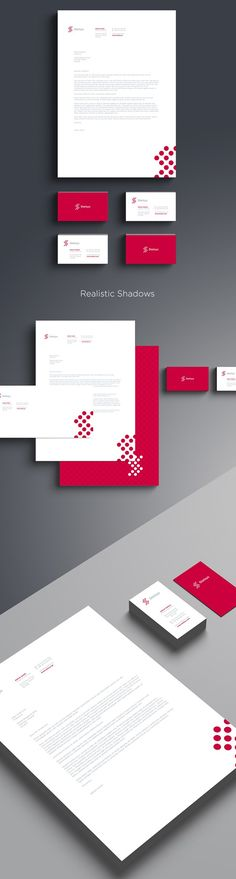 Free Branding & Stationary Mock-up Set