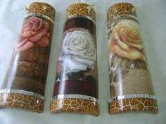 Image result for telhas decoradas com decoupage