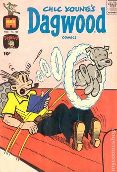 Chic Young's Dagwood vintage comic book, 1956