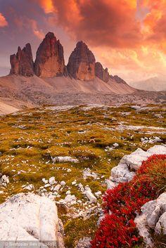 Tre Cime di Lavaredo, Dolomites Trentino Trentino-Alto Adige