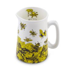 Buy Bee Free Small Jug, Oxfam, Sourced by Oxfam, Kitchen Bee Free, Great Gifts, Mugs, Stuff To Buy, Shopping, Tumblers, Mug, Cups