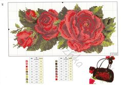 Cross Stitch Rose, Cross Stitch Flowers, Cross Stitch Patterns, Crochet Curtains, Embroidery, Floral, Projects, Crossstitch, Needlepoint