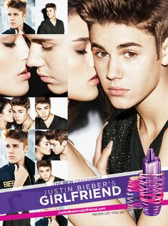 Get close with Justin Bieber's new fragrance GIRLFRIEND. Dare to get closer? Smells Awesome!!