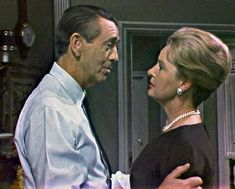 MacDonald Carey as Tom Horton and Frances Reid as Alice Horton