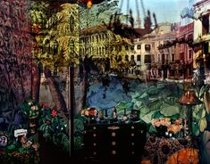 View Camera Obscura View of Volta Del Canal in Palazzo Room Painted with Jungle Motif, Venice, Italy by Abelardo Morell on artnet. Browse more artworks Abelardo Morell from Carroll and Sons. Camera Obscura, Outside World, Collaborative Art, Room Paint, Double Exposure, One Pic, Images, Around The Worlds, Photography Lessons