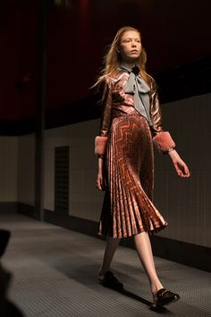 That Gucci dress, in motion this time. #sartorialist