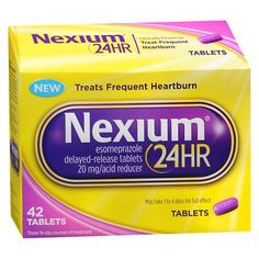 Nexium 24HR Tablet - 42 ea