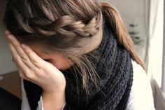 .ponytail & braid