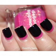 #mani #nails #manicure #Essie #OPI #ChinaGlaze #VivePretty-short nails -real nails - nail polish - sexy nails - pretty nails - painted nails - nail ideas - mani pedi - French manicure - sparkle nails -diy nails