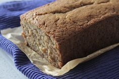 Oat Flour Maple Banana Bread - Oat Flour, Baking Soda, Cinnamon, Salt, Maple Syrup (would like to try this with less or with molasses), Eggs, Butter, Bananas, Greek Yogurt, Vanilla