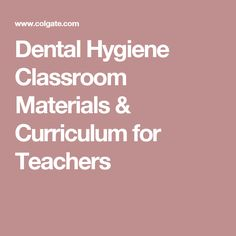 Dental Hygienist college math subjects