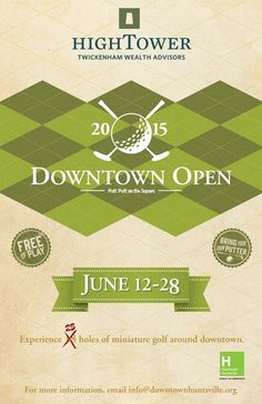 The Downtown Opens starts June 12th! Here is more from WHNT and our CEO Chad Emerson