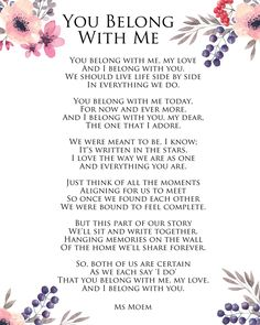 Romantic Wedding Vows to Husband Make You Cry, How to Write Your Own Wedding Vows, Impressive Wedding Vows Ideas Samples wedding quotes Wedding Invites Paper Love Poems Wedding, Romantic Wedding Vows, Wedding Vows To Husband, Wedding Verses, Private Wedding, Wedding Rustic, Love Poems For Weddings, Wedding Quotes And Sayings, Wedding Poems Reading
