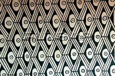 Kamayurá - simbolizando olho de arara