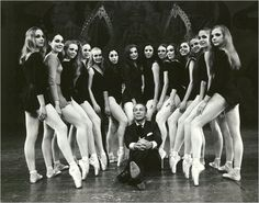 """aurelie-dupont: """" George Balanchine and NYCB ballerinas """" Ballet Images, Ballet Photos, Ballet Pictures, Shall We Dance, Just Dance, George Balanchine, Ballet School, City Ballet, Dance Photography"""