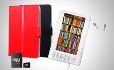"Ebook 7"" Funda Micro SD 16 gb 1000 Libros de Regalo a partir de 65€ http://www.doferta.com/ebook-7-+-funda-+-micro-sd-16-gb-+-1000-libros-de-regalo.html"