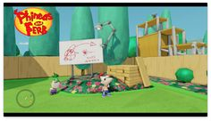I hope you'll enjoy this sneak peek at my new series based on Disney's Phineas and Ferb! Phineas And Ferb, Disney Infinity, New Series, Toy Boxes, Toddler Bed, Toys, Decor, Child Bed, Activity Toys