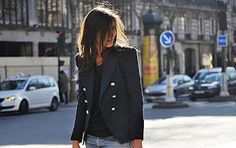 The blazer...