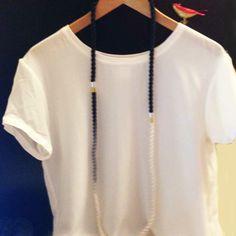 3 pieces cord necklace  Desideri design