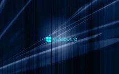 Bildergebnis für windows 10 wallpaper Windows 10, Neon Signs, Wallpapers, Wallpaper, Backgrounds