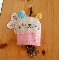 DIY Bunny Key Purse Kit. Includes ALL by REEcreationsBYree on Etsy, $16.00