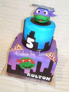ninja turtles cake |