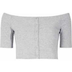 Grey Marl Off The Shoulder Crop Top (375 MXN) ❤ liked on Polyvore featuring tops, crop tops, shirts, clothes - tops, grey, off the shoulder crop top, grey shirt, grey off the shoulder top, cotton off the shoulder top and off shoulder shirt