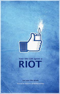 Facebook: Riot #ad #print
