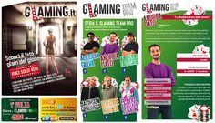 "Glaming ""The glam side of the game"" social campaign. #SMM http://thegoodones.eu"
