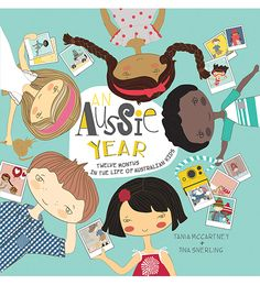 'An Aussie Year' is a picture book bursting with national pride. It is a snapshot of who we are as a nation, and covers our modern-day culture, lifestyle and traditions.