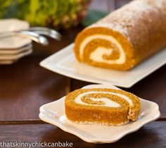 That skinny chick can bake!!!: Pumpkin Roll...#Sunday Supper, #All Things Orange