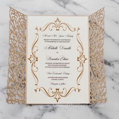 scroll wedding invitations Absolutely in love with this idea