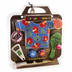 Retirement Survival Kit Gag Gift Idea