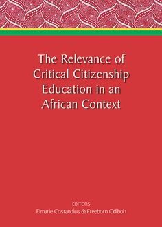 The Relevance of Critical Citizenship Education in an African Context Citizenship Education, Education System, Point Of View, Cover Pages, Early Childhood, Fields, Perspective, Religion, Politics