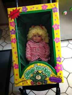 i wish i was a keener: Cabbage Patch Halloween Costume
