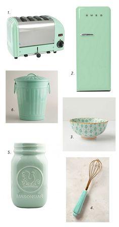 Make Mine Minty Green. Mint Green KitchenMint ...